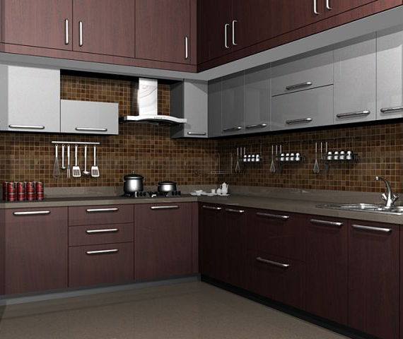 House Interior Design Kitchen: Modular Kitchens